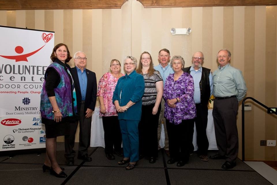 Congratulations to the volunteer drivers who were honored with a Group of the Year award. The group rallied together to meet the transportation needs for individuals who need radiation therapy.